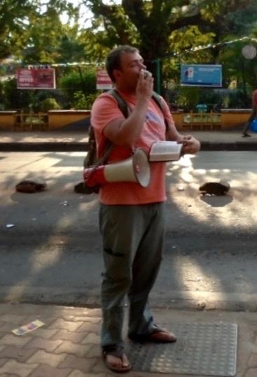 Open-air Preaching in Goa