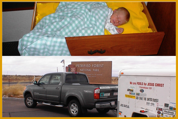 10 years ago, FPGM began; our eldest daughter was sleeping in a drawer, and we were on the road with a truck provided by God.