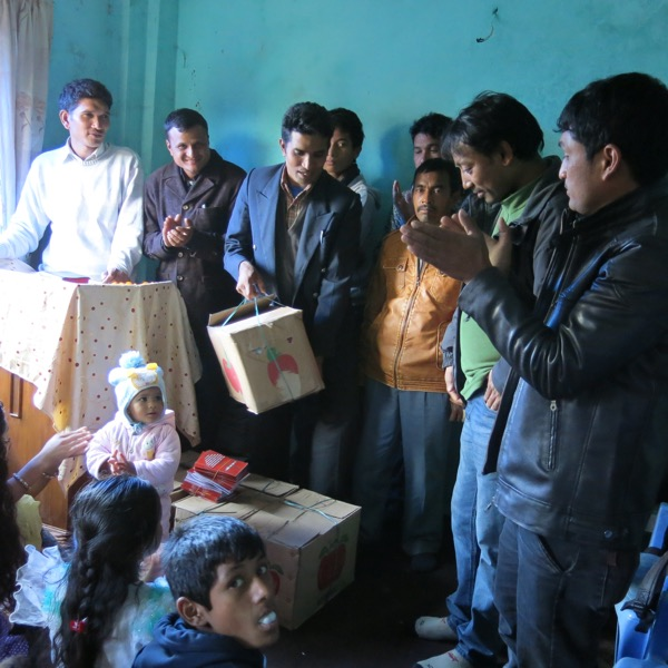 Providing Gospel Tracts & Project Jagerna Scripture Portions to Local Believers