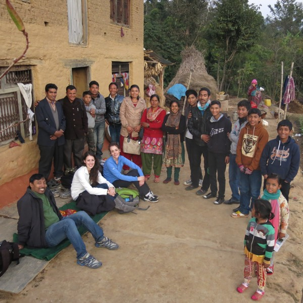 Believers Gathered for Training in Dhulikhel