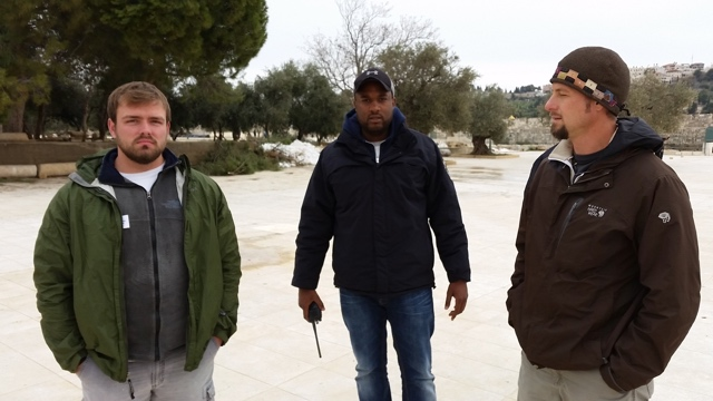 """This wicked man escorted us off the Temple Mount for saying """"God Bless Israel."""""""