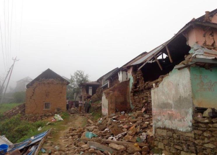 Earthquake Damage in Gorkha District