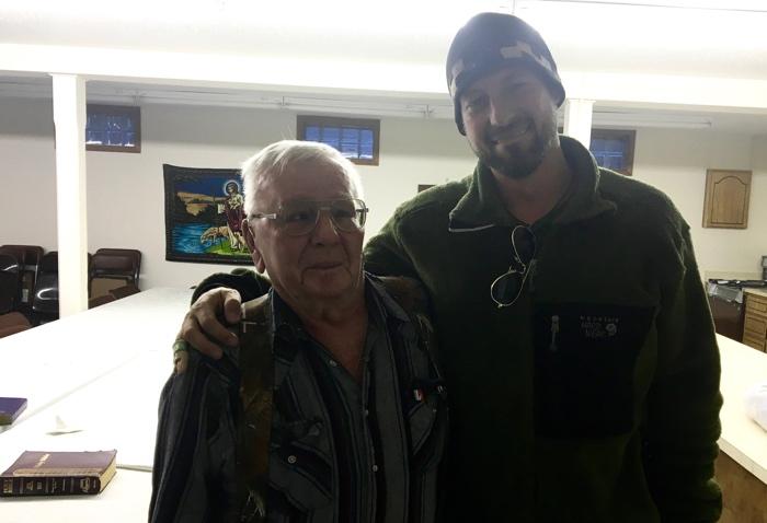 Praise God for faithful servants like this elderly pastor from Belfield, North Dakota.
