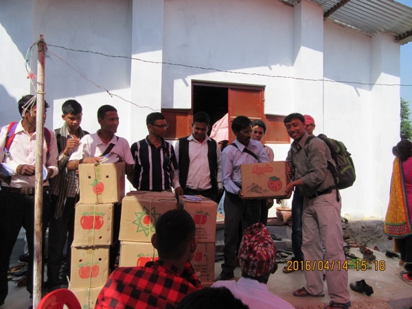 In one outing, 30,000 pieces of Project Jagerna Gospel literature were supplied to local churches for evangelism in the remote villages.