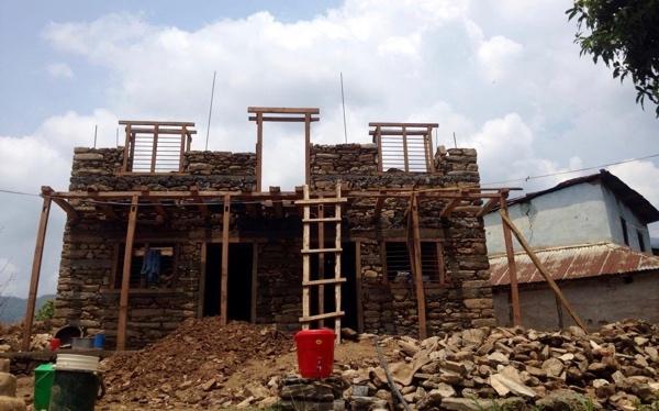 Building Brother Daya Ram's New Village Home