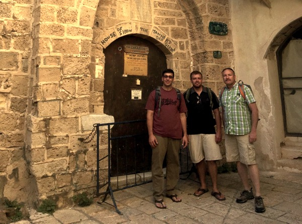 Outside the Home of Simon the Tanner in Jaffa