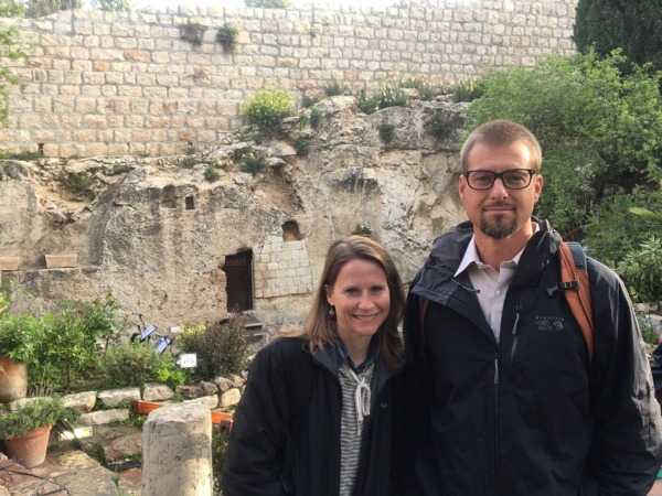 Easter Sunrise Service at the Garden Tomb