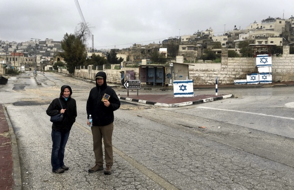 Walking the Deserted Streets of the Jewish Enclave in Hebron
