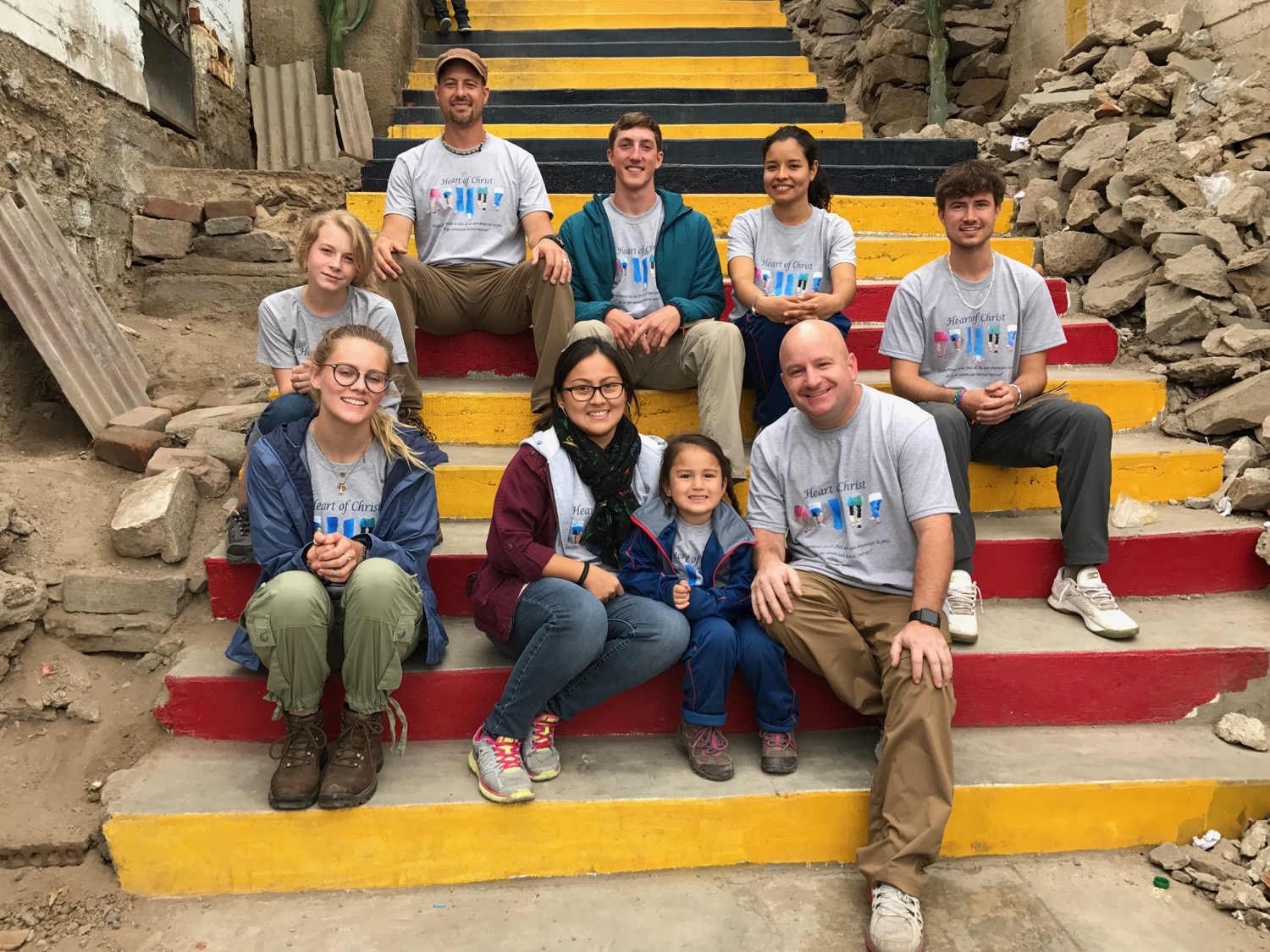 It was a joy to again work with Heart of Christ Ministries in Caja de Aquas, Peru