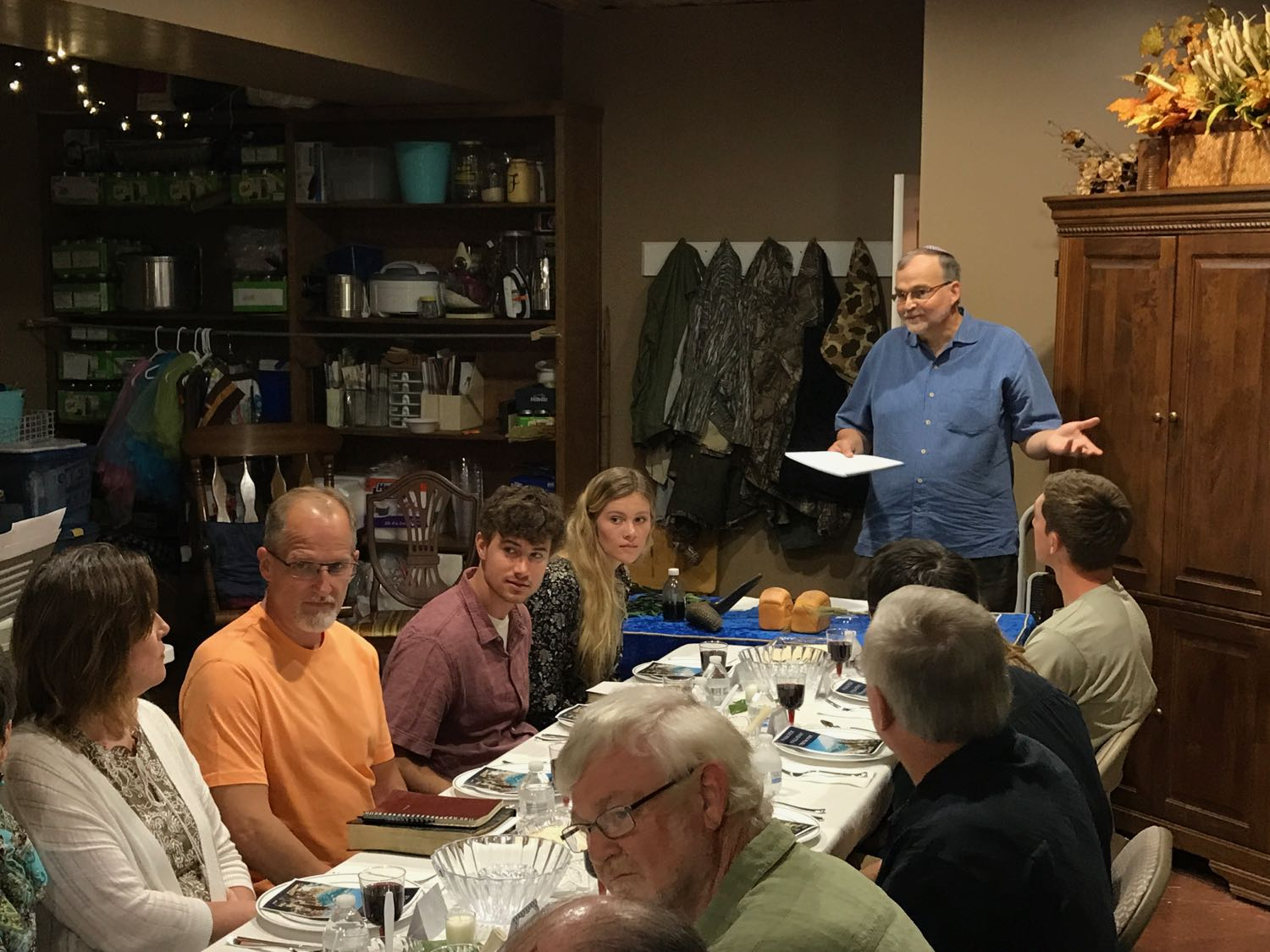 Part of the Team Yeshua orientation involved an authentic Passover Seder courtesy of Friends of Israel Gospel Ministry.