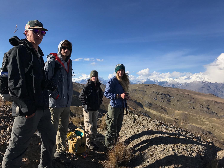 High in the Cordillera Negra