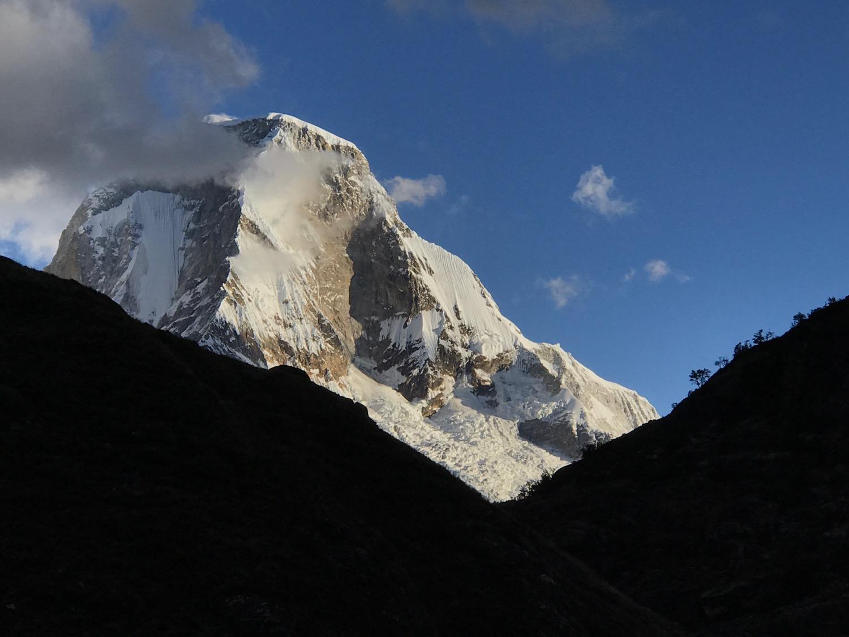 Huascuran, the Highest Peak in Peru (22,205 ft.)