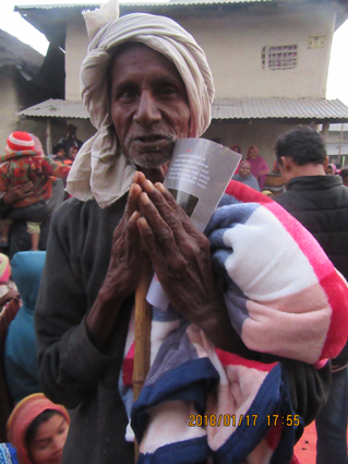Gospel with a blanket.JPG