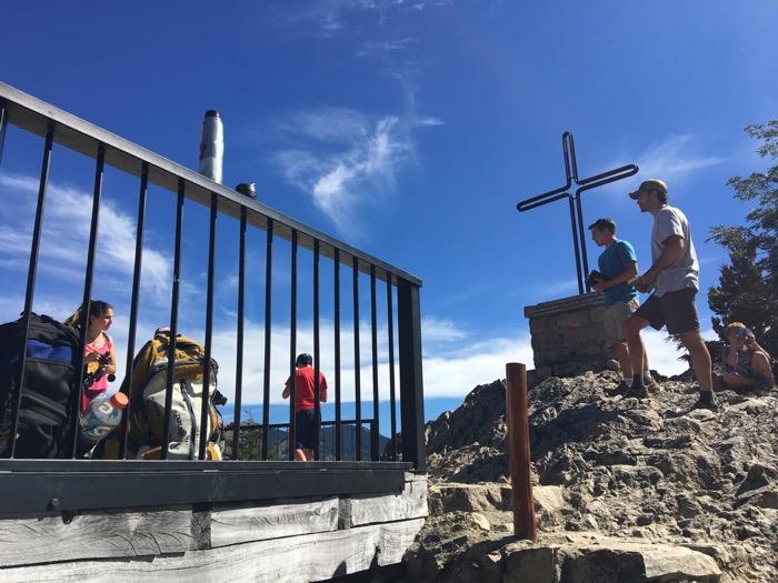 Open-air Preaching atop Cerro Campanario