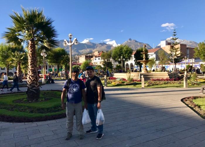 Putzing around Huaraz