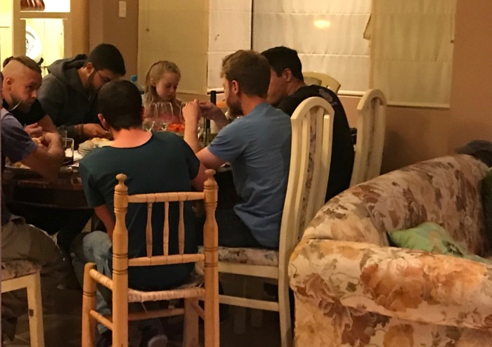 Hours of Discussion around the Table concerning the things of Messiah