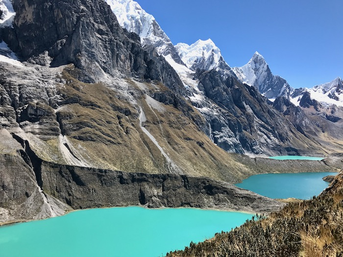 The 3 Lakes Route on the Huayhuash Trek