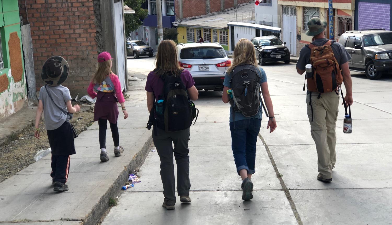 Walking the Streets of Huaraz