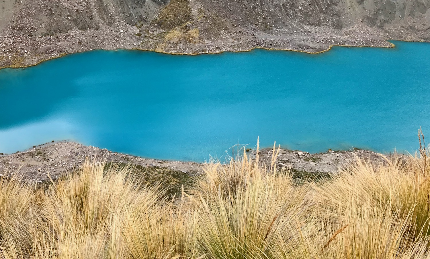 I miss the unique azure blue lakes of the high Andes in Central Peru.