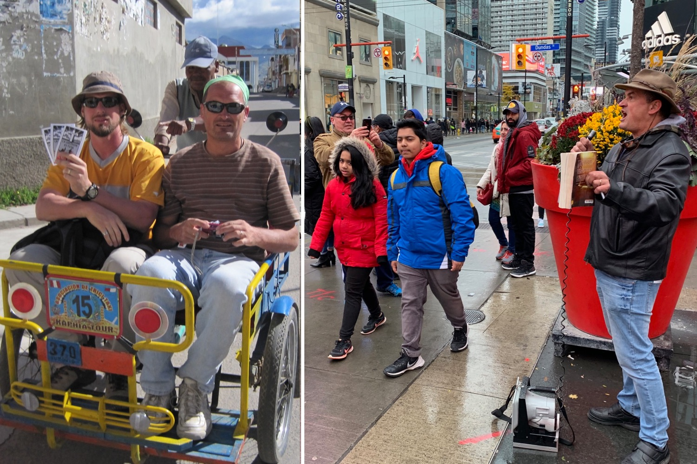 Jesse Boyd & Bruno Benoni: 2010 in Bolivia, 2018 in Toronto