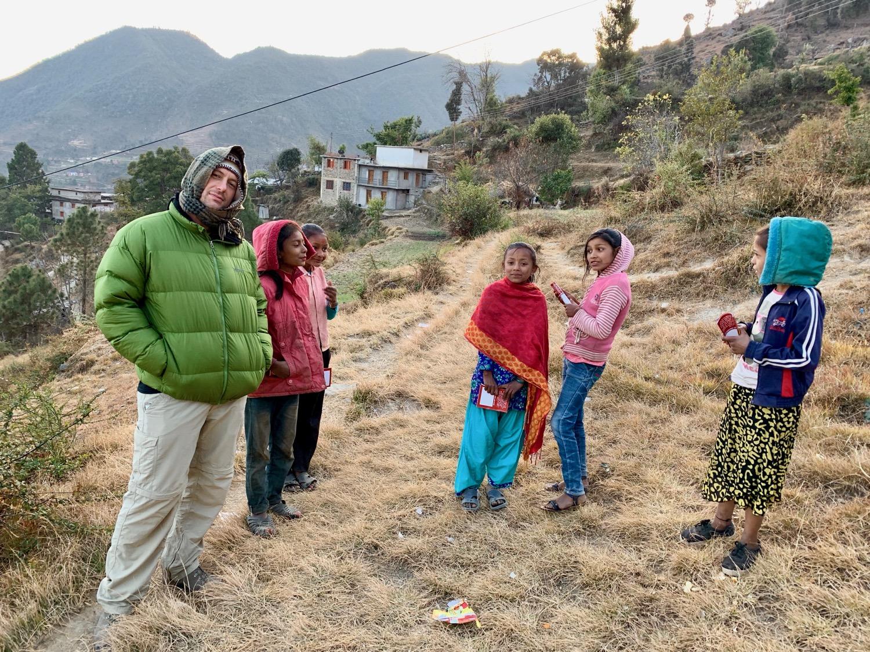 Sharing Good News with Village Children