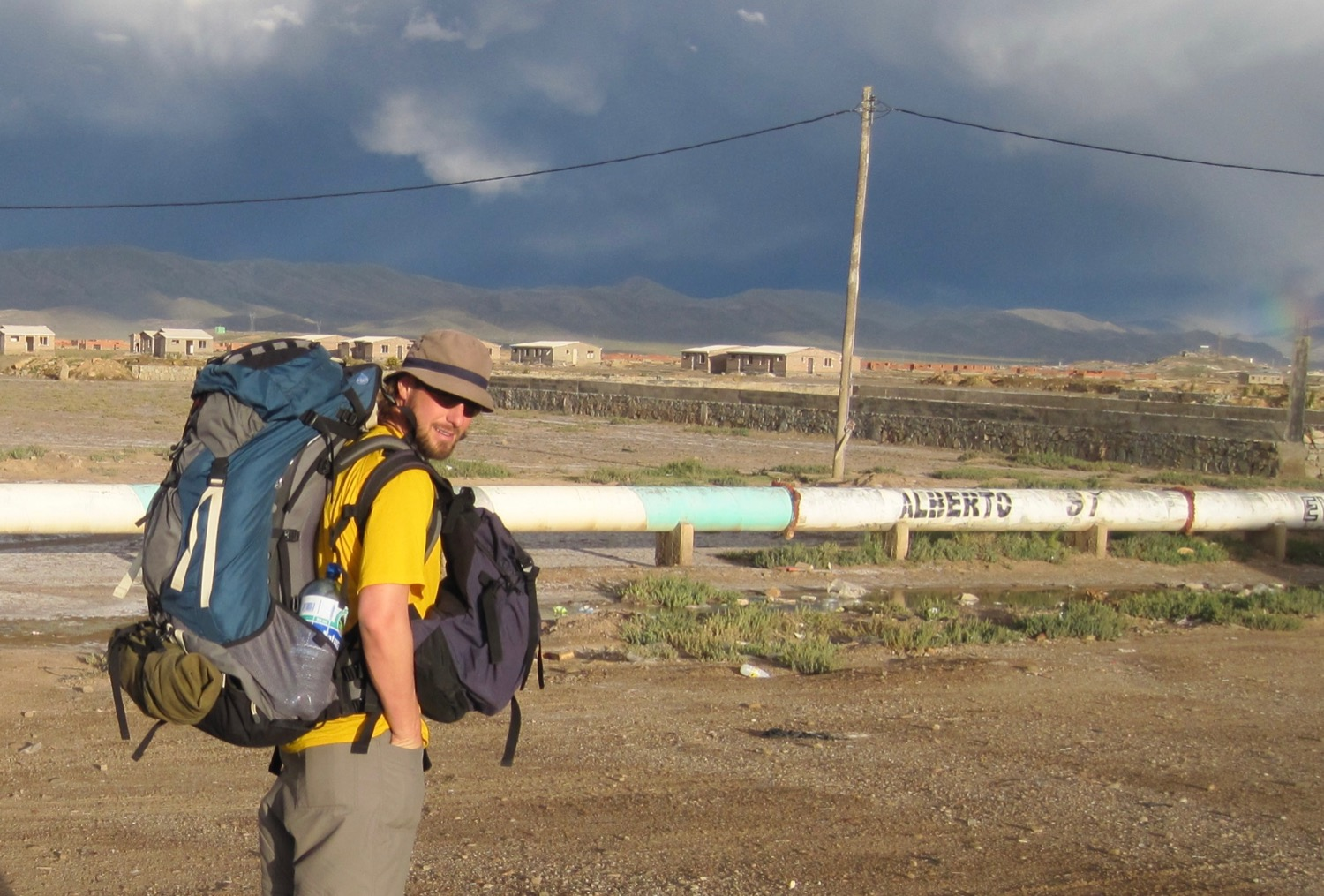 Hitting the road in Bolivia (2010)