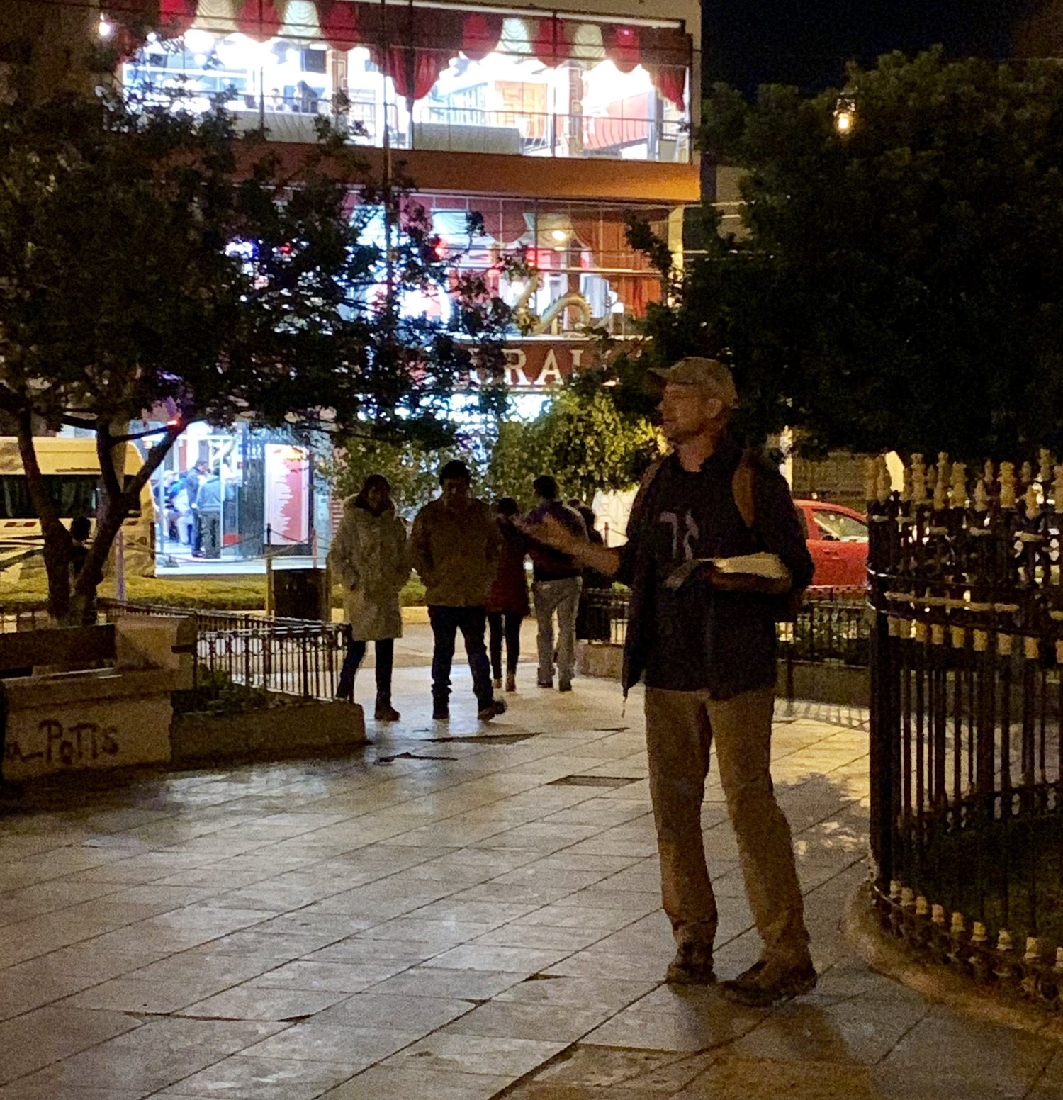 Open-air Preaching to Gentiles in Huaraz's Bethlehem Plaza