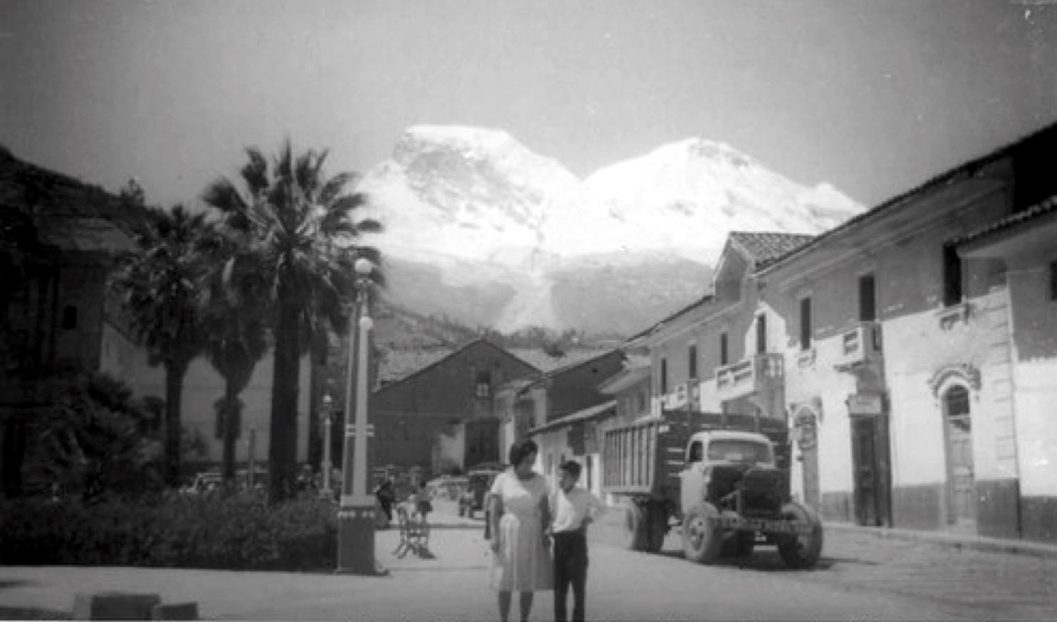 Yungay, Peru in 1966