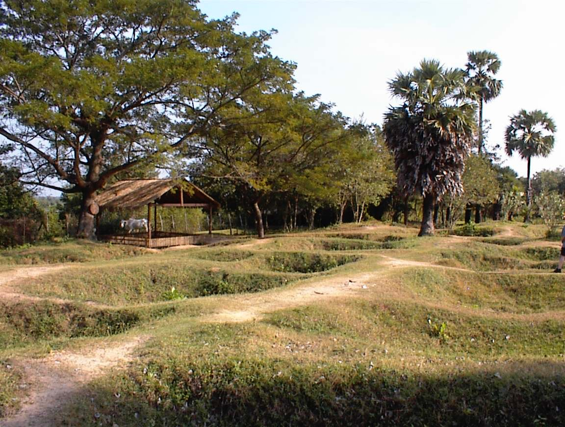 A solemn pall, much like I sensed at Camp Santo, hung over the Killing Fields in Cambodia when I visited in 2000.