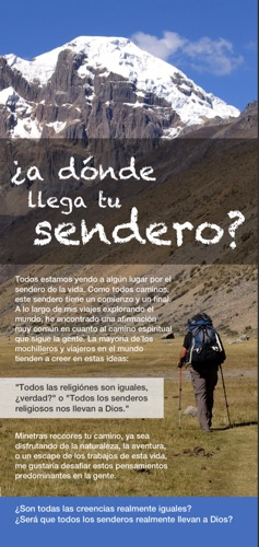 The Trekker Tract in Spanish