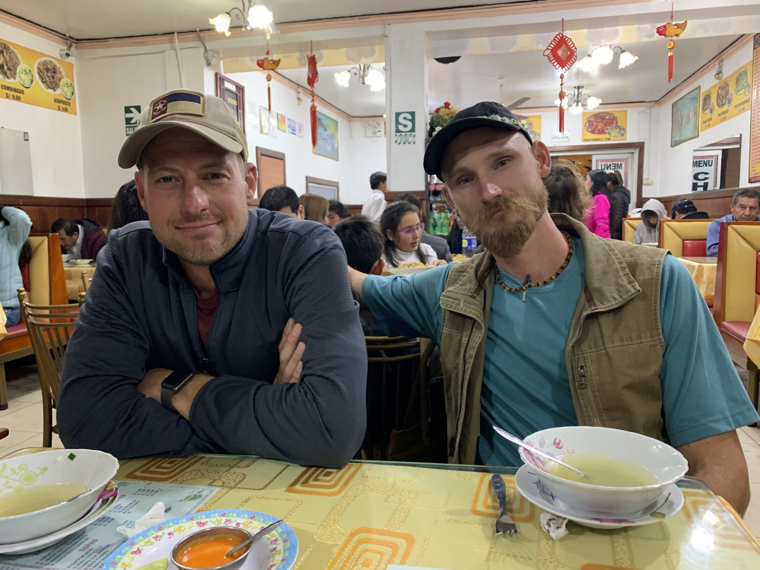 Well, Robert made it to Huaraz before I got around to a final proofread of this post. We grabbed some late night Chifa (i.e. Chinese cuisine with a Peruvian flair).