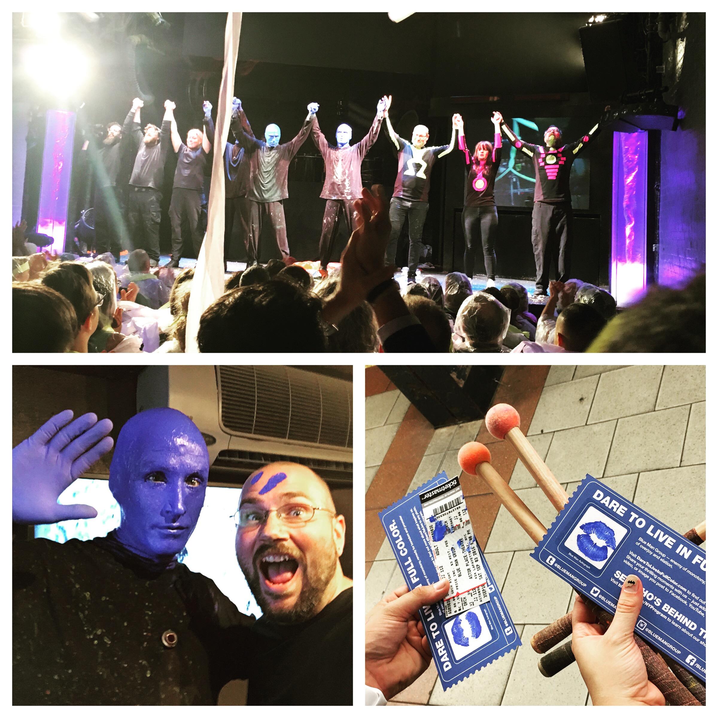 Blue Man Group New York