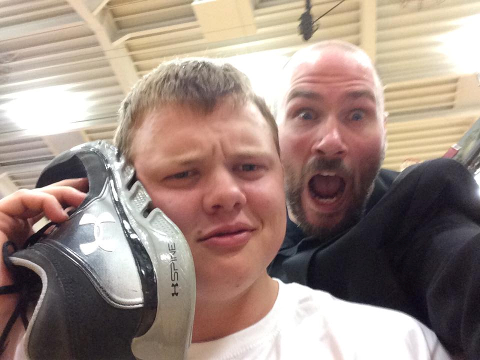 High School Hypnotist Selfie