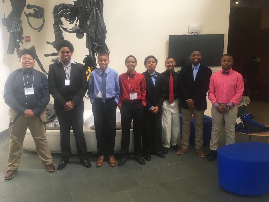 Epiphany students at the Morehouse College Conference