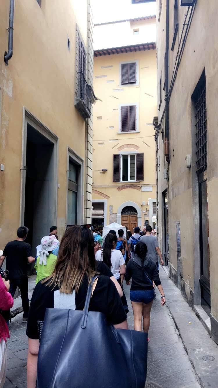 Walking around Rome!