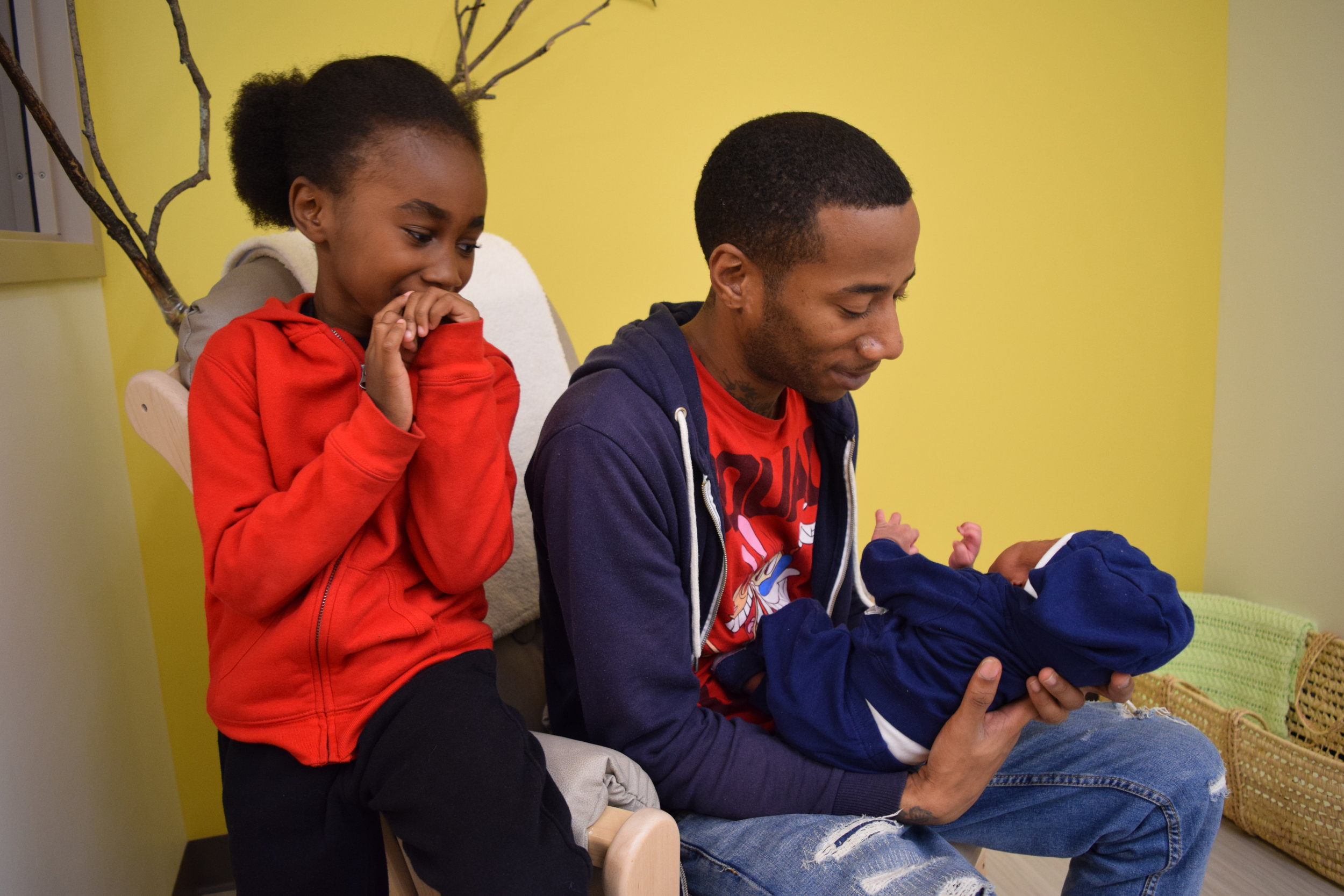 - WE COULD wait to involve fathers...INSTEAD we work with dads right from the start.