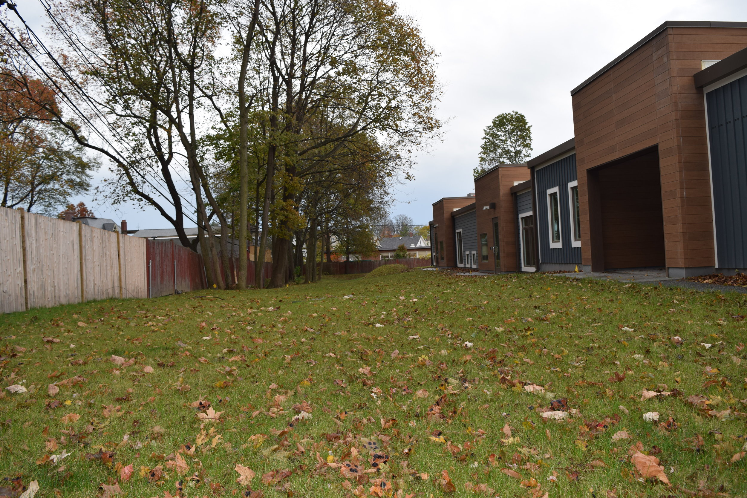 - WE COULD keep kids indoors...INSTEAD we have over 7,000 sq. ft. of outdoor classrooms.