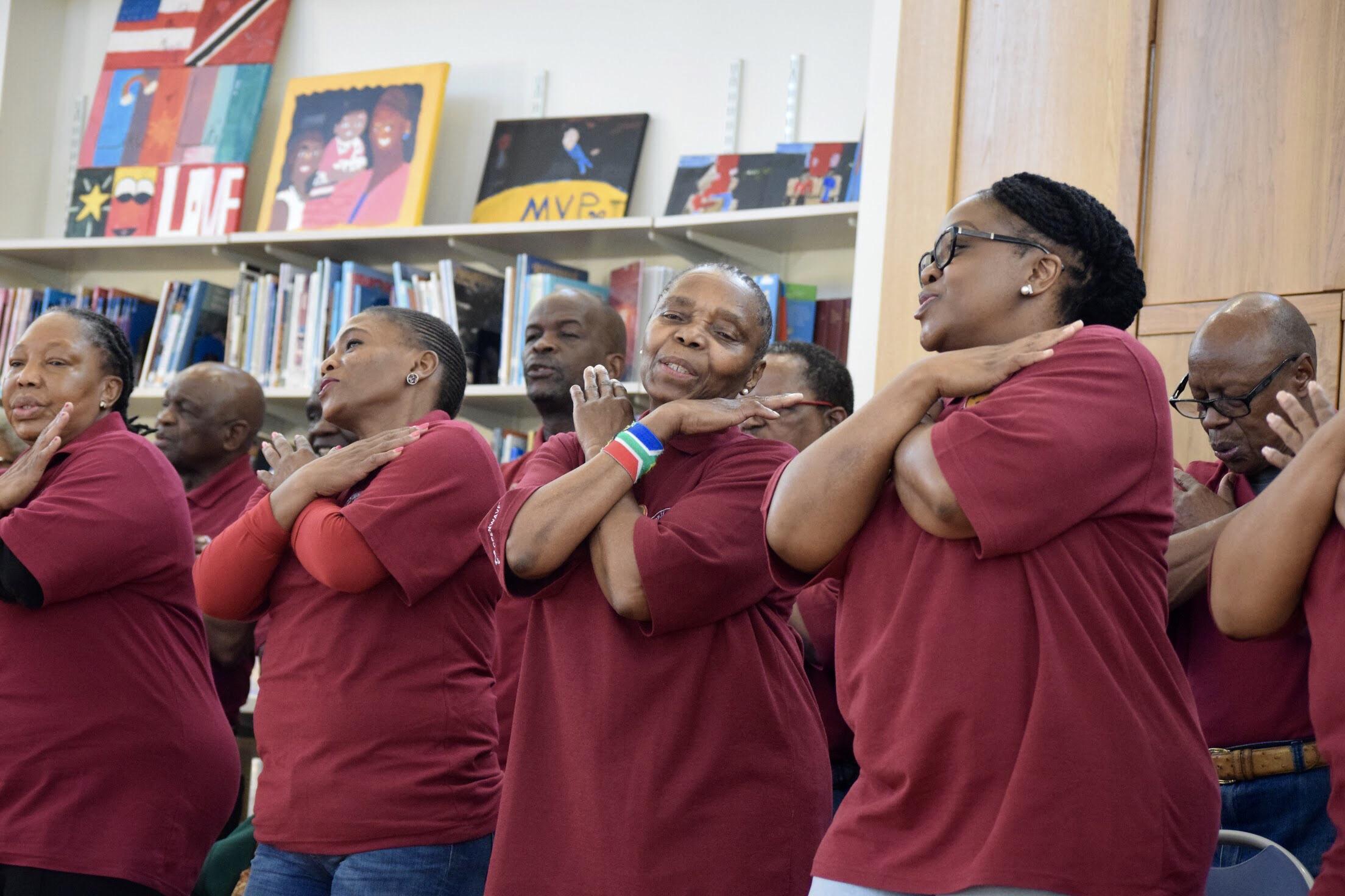 The Imilonji Kantu Choir
