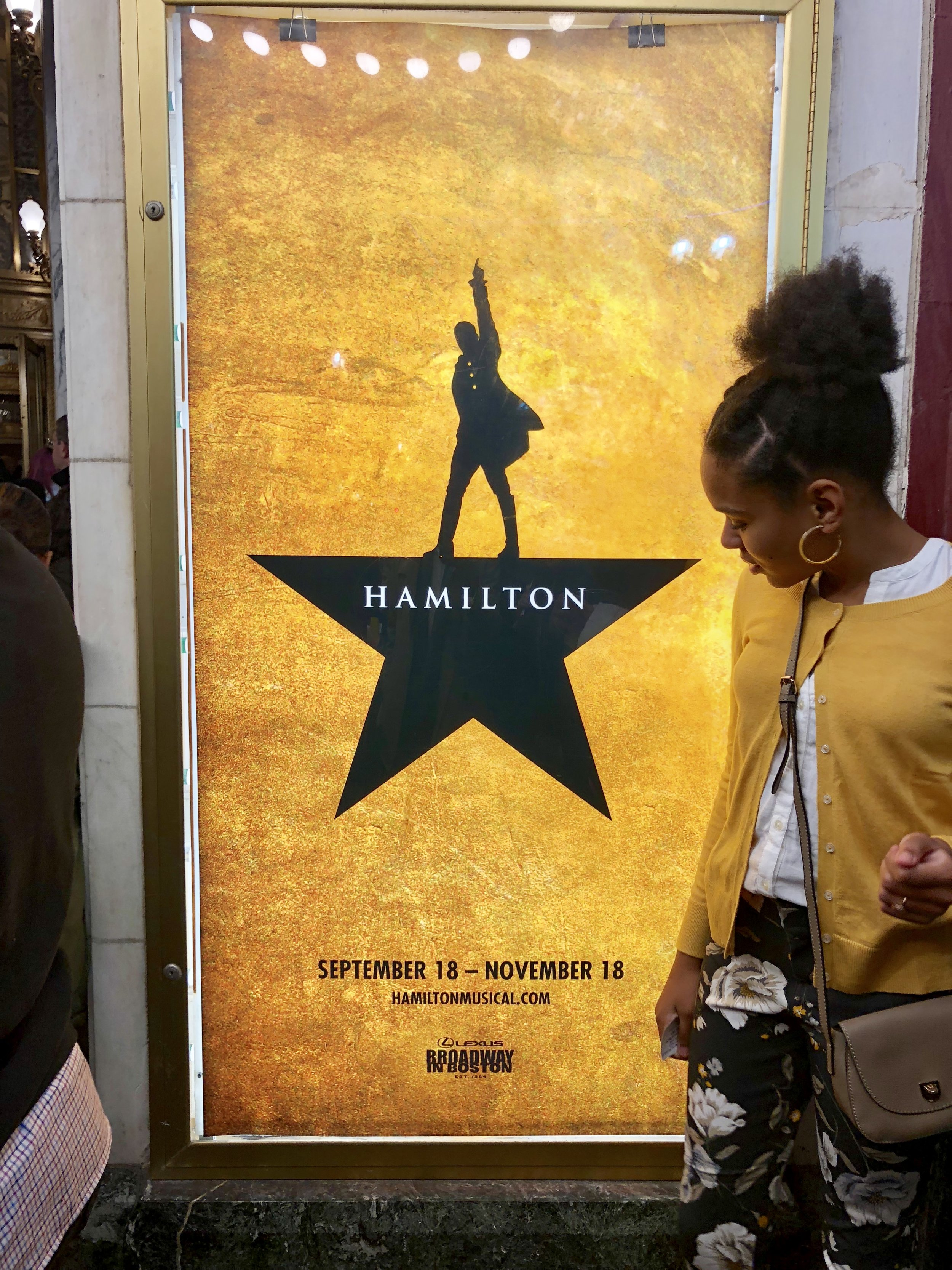 Jourdan excited to see Hamilton