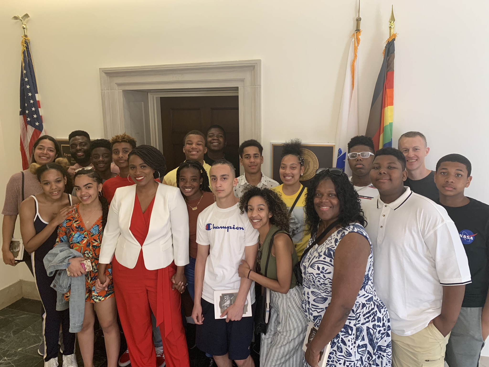 With Ayanna Pressley