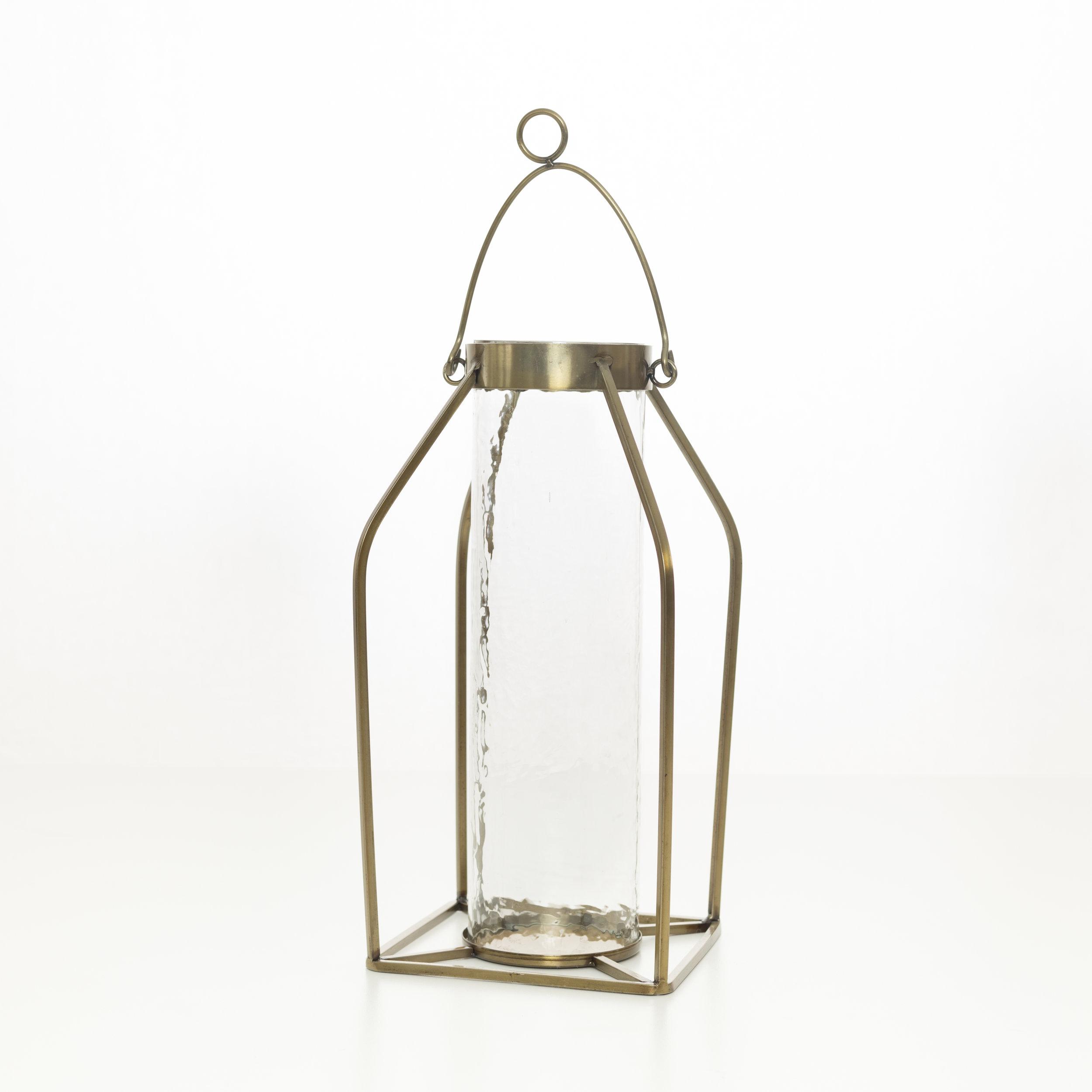 Brass lantern collection