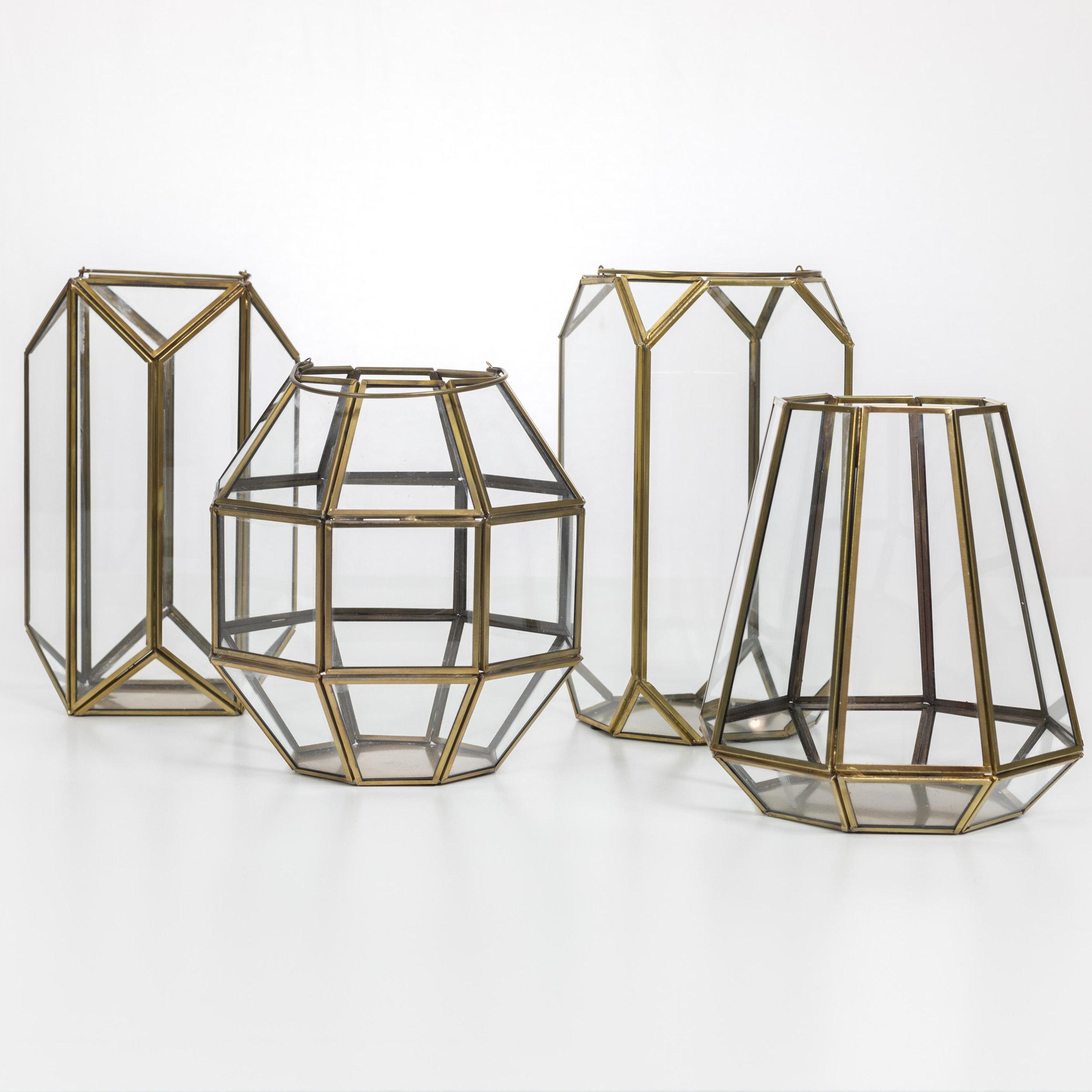 Gold terrarium Collection