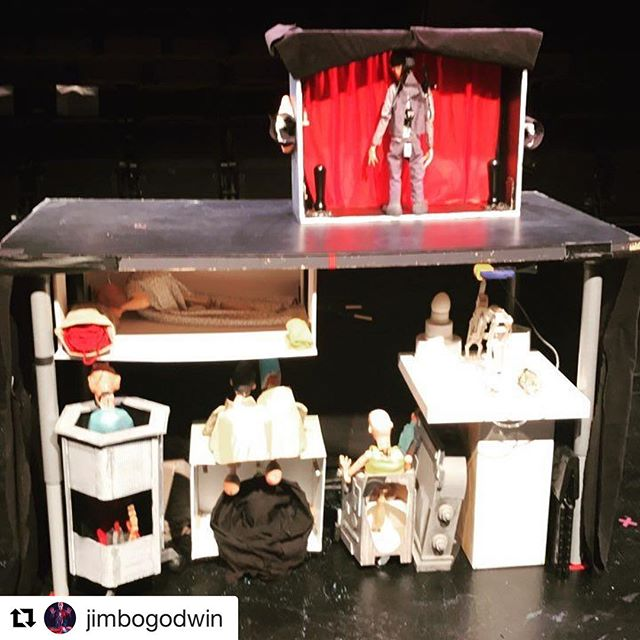 The preset is now the show. Only 6 chances left to catch @theflatironhex! #puppets #occult #theater #nyc #downtown #happyhour