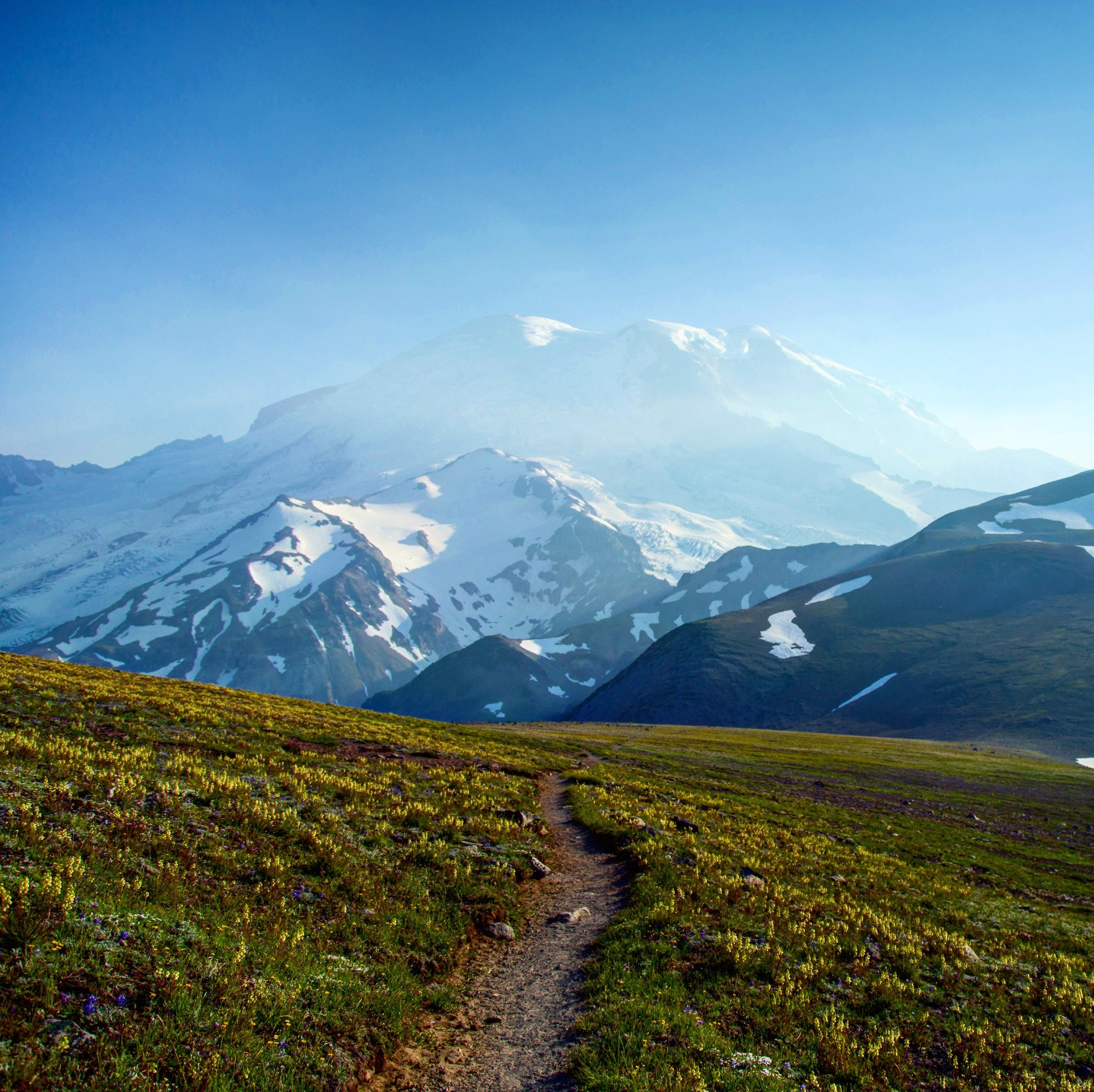 Mount Rainier Hike