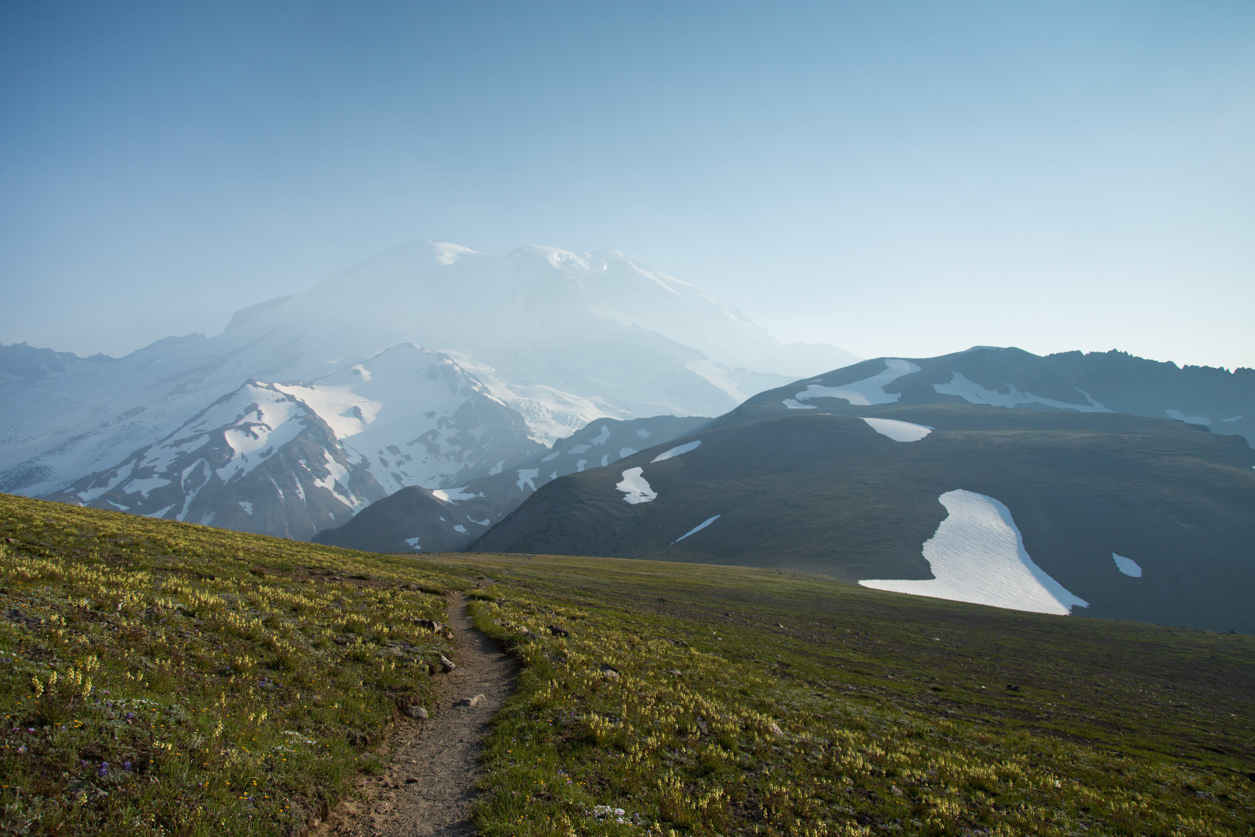 From the Second Burrough to the Third Burrough Hike at Mount Rainier