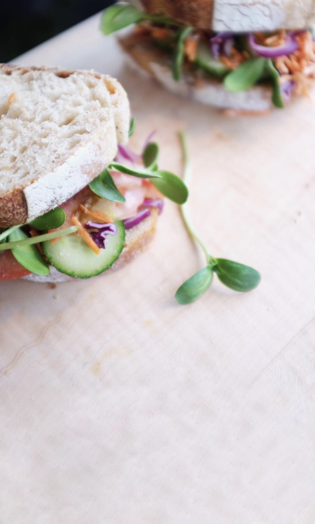 freshly made sandwiches - We use ethically sourced local meats in our products to ensure quality and reduce our ecological footprint.