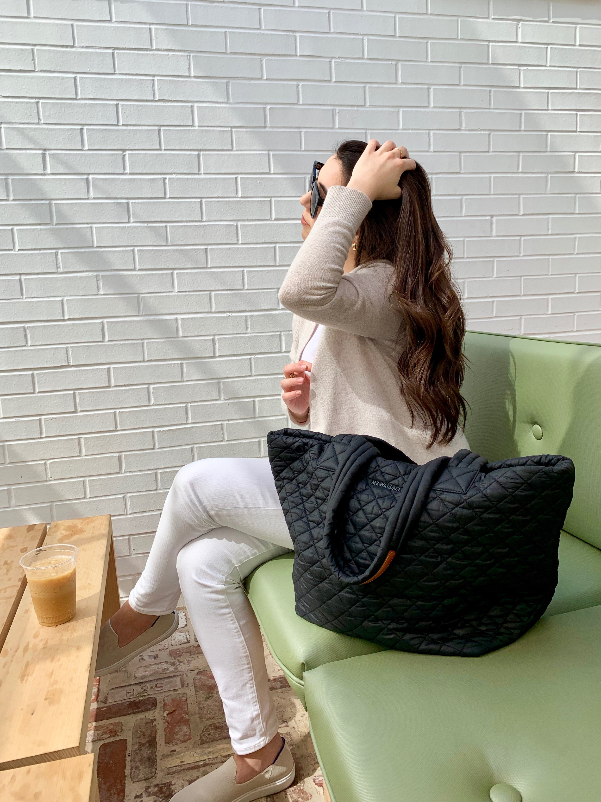 TOTE-ALLY OBSESSED - When it comes to accessories, every closet needs a classic black tote— One that's chic and versatile.