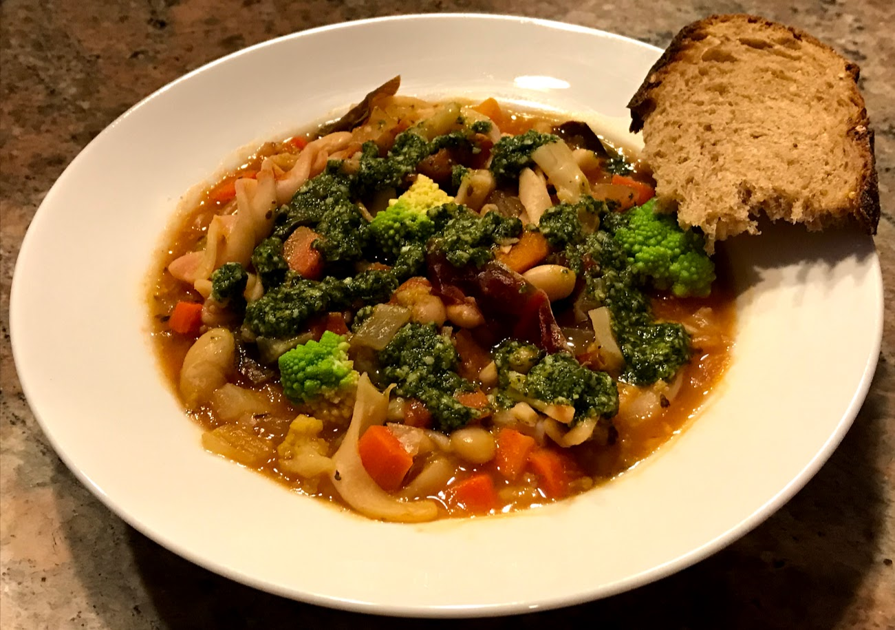 Sop up the goodness of this hearty winter soup.