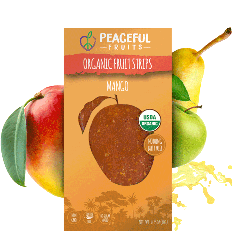 Organic Mango Fruit Snacks