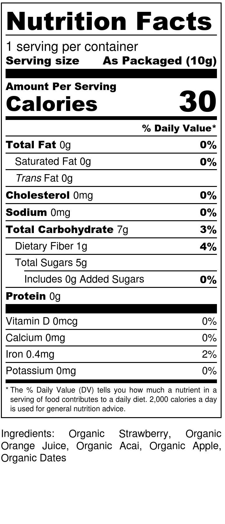 Strawberry + Acai Drizzle - Nutrition Label (1).jpg